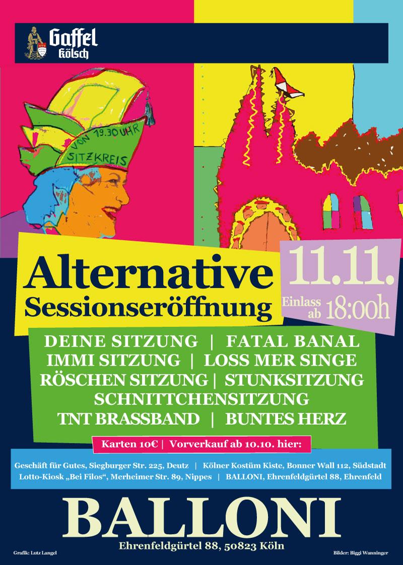 Sessionseröffnung im Alternativen Karneval