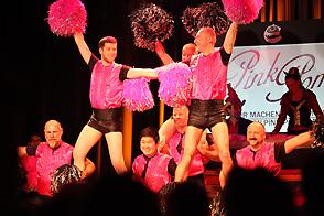 Pink Poms bei Deine Sitzung 2015