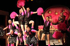 Pink Poms Deine Sitzung 2014