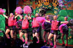 Röschensitzung 2015 - Pink Poms
